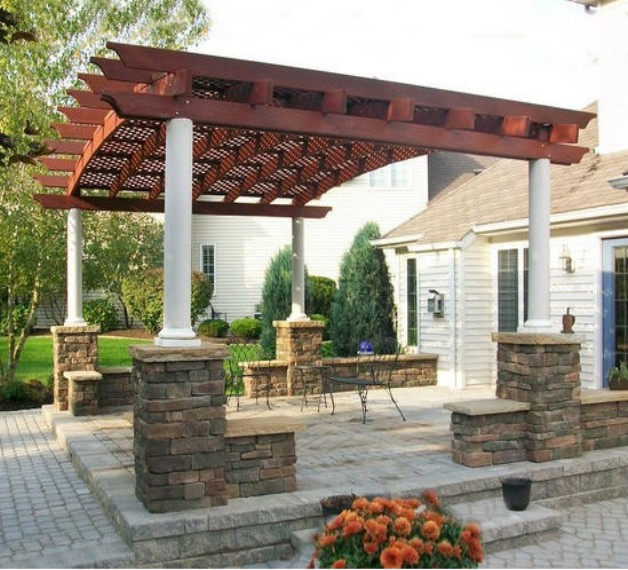 Redwood Pergola Designs 2