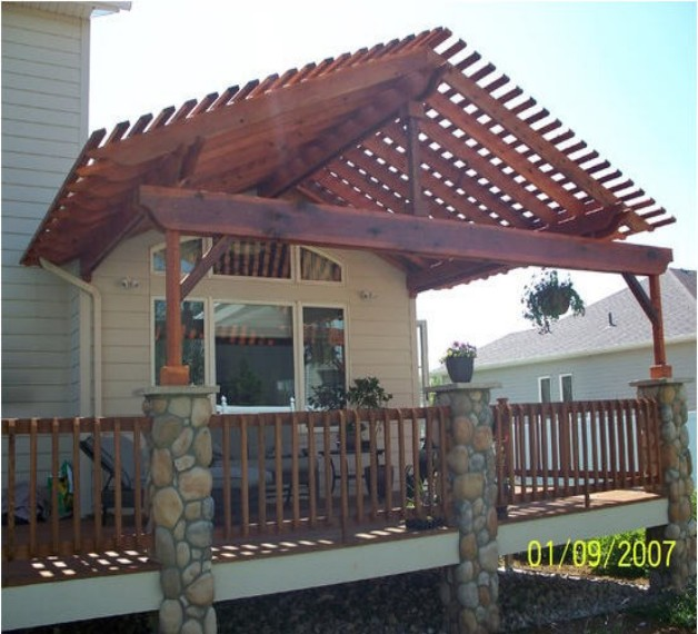 Redwood Pergola Designs 4
