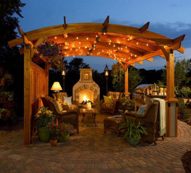 Redwood Pergola Designs 5