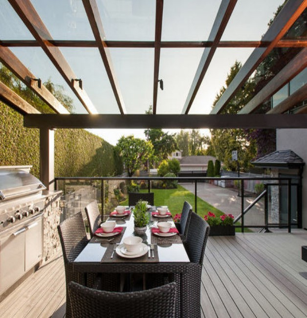Glass Roof Pergolas 3