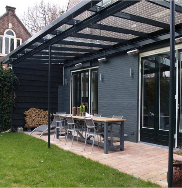 Glass Roof Pergolas 4