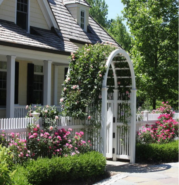 Garden Arbor Gate: An Entry to Symphony