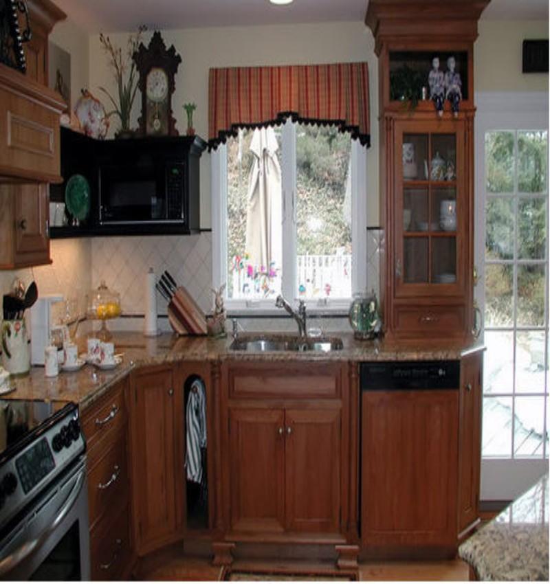 Best Trellis Kitchen Curtains 1