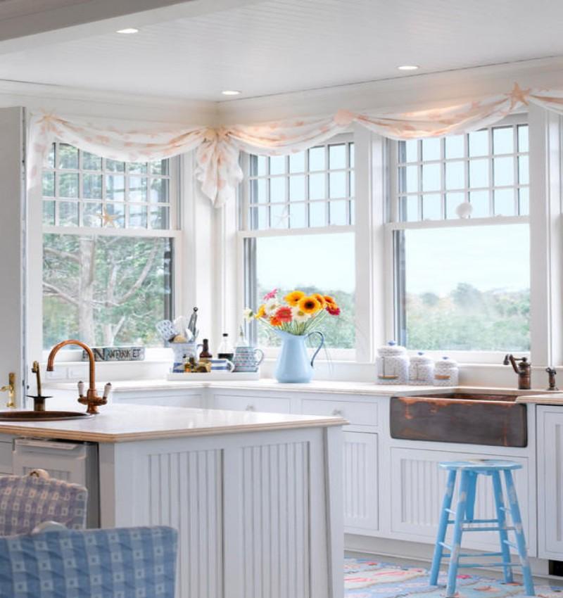 Best Trellis Kitchen Curtains 4