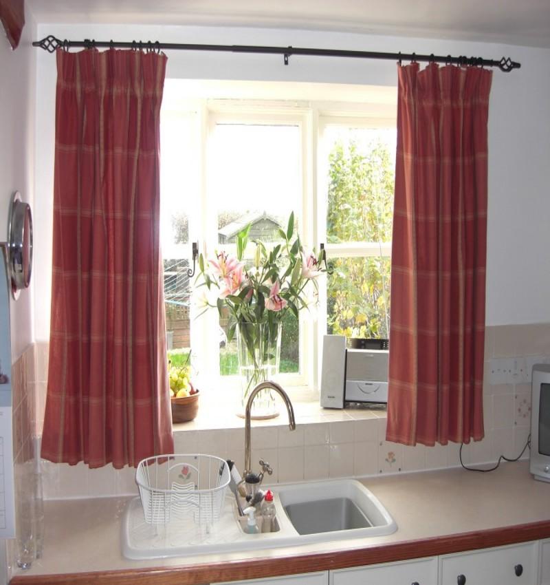 Best Trellis Kitchen Curtains 5