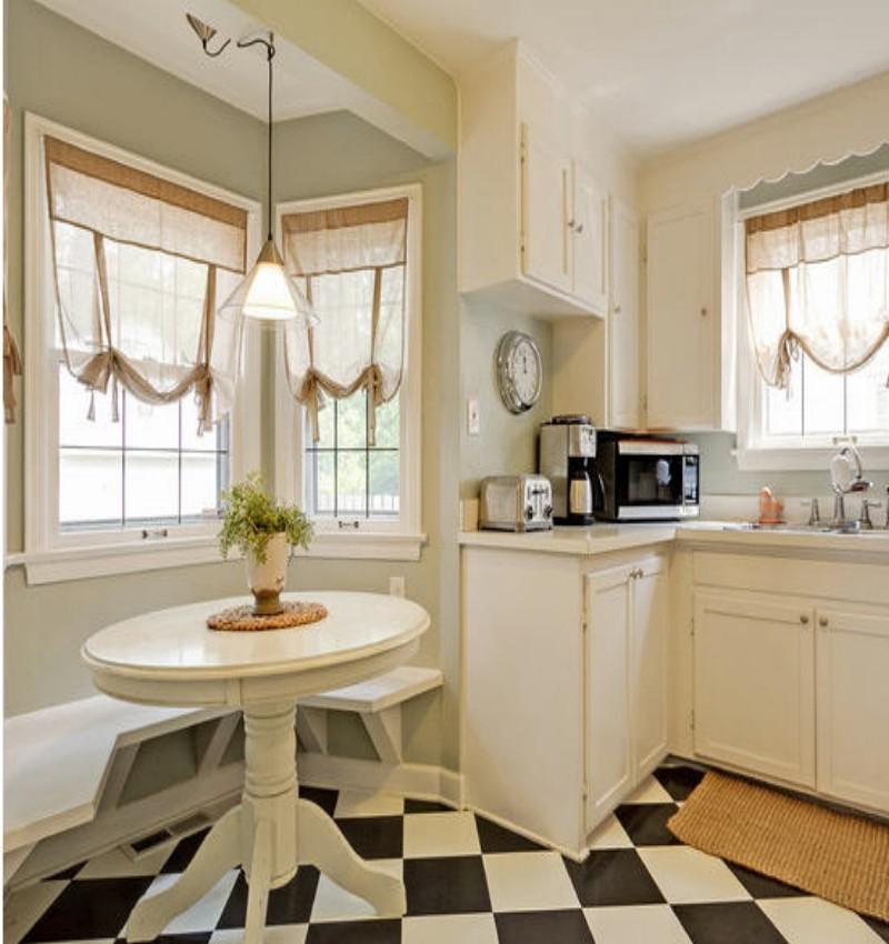 Best Trellis Kitchen Curtains 6