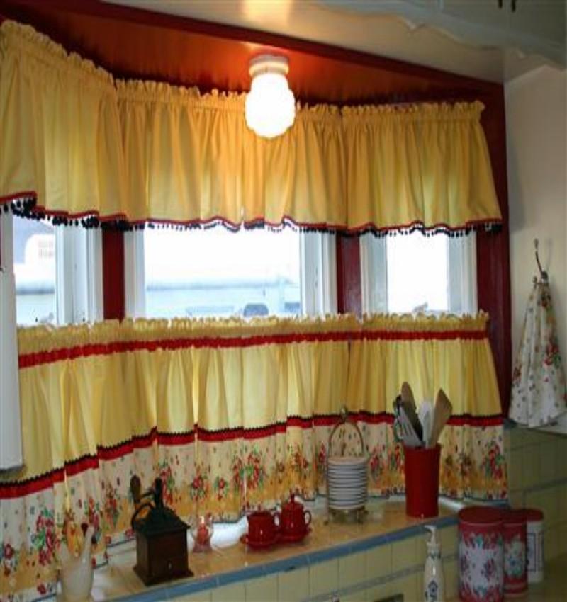 Best Trellis Kitchen Curtains