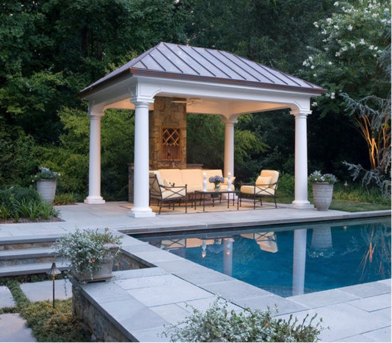 Heart Touching Ideas of Gazebo Roof or Cover