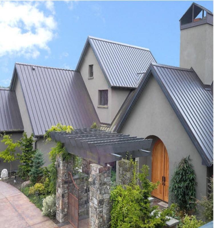 Metal Roof for Pergola 1