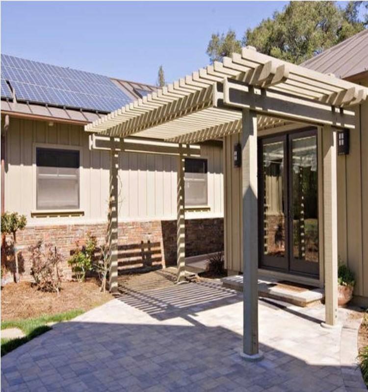 Metal Roof for Pergola