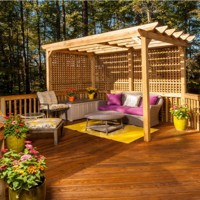 Do You Have Corner Outdoor Pergola Benches Gazebos