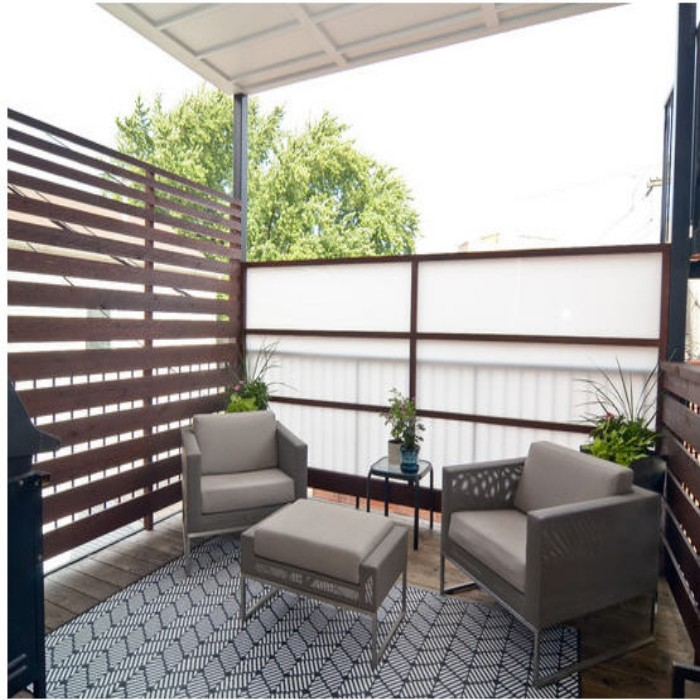 Outdoor Pergola Benches 5