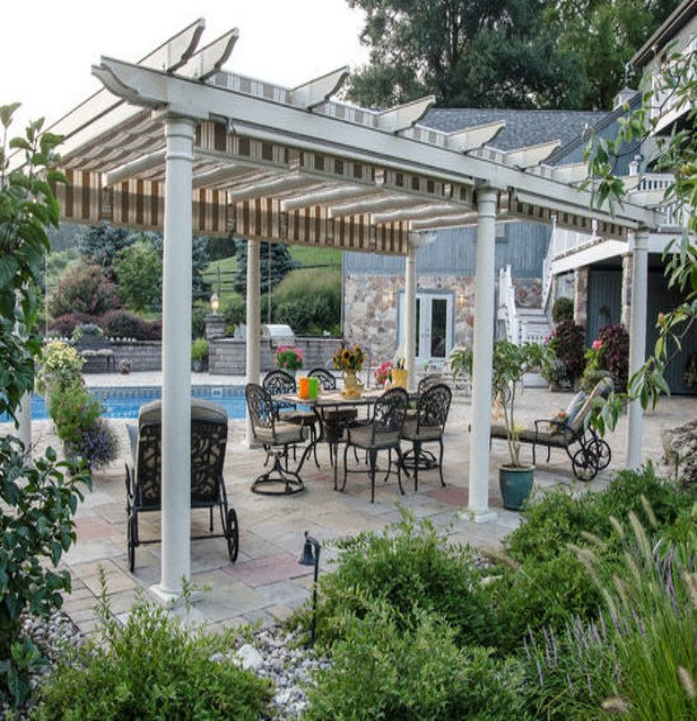 Retractable Awnings / Canopies for Pergola
