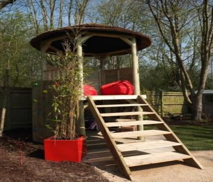 Gazebo Tree House 4