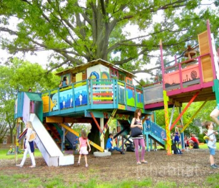 Gazebo Tree House 6