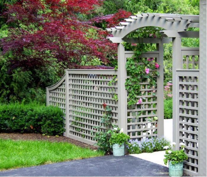 Design Your Entrance Pergola