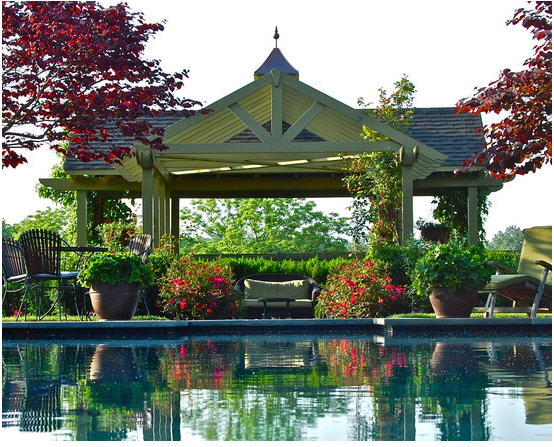 Design of Pool Pergola 1
