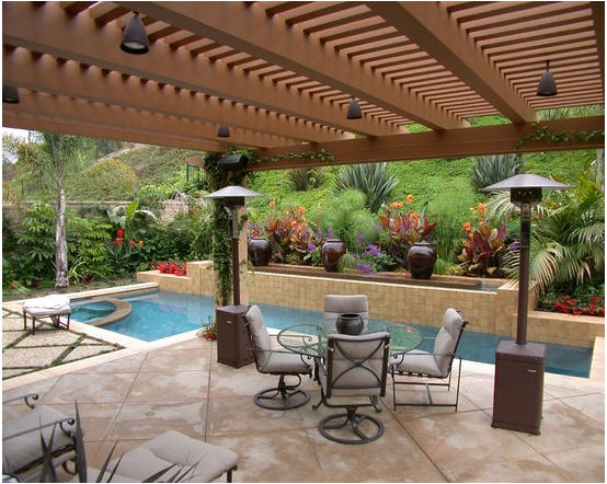Design of Pool Pergola 2