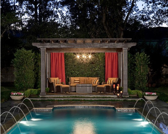 Design of Pool Pergola