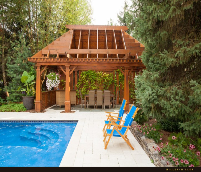 Pergola for Swimming Pool 4