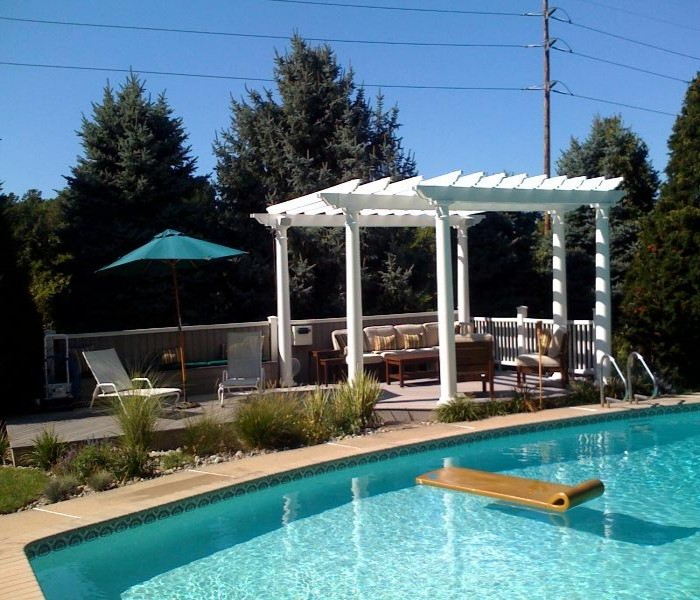 Pergola for Swimming Pool 5