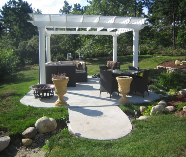 garden treasures white pergola 7