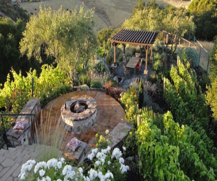 Dining Garden Pergola 4