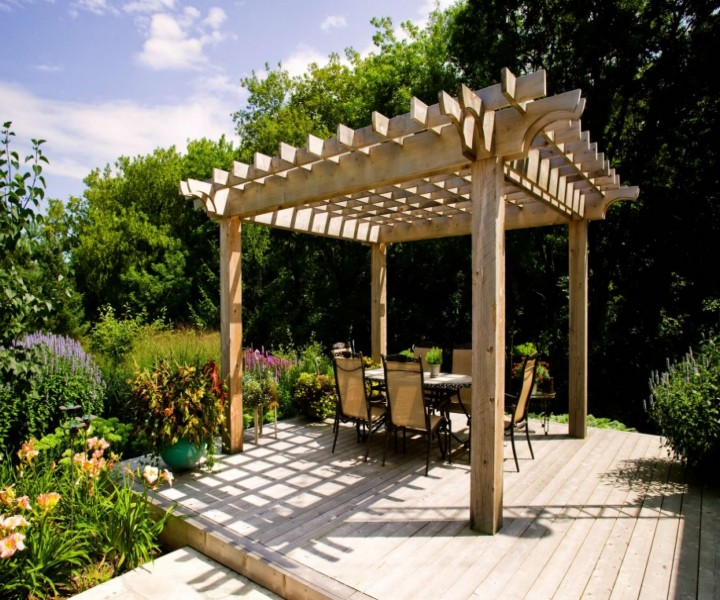Dining Garden Pergola 5