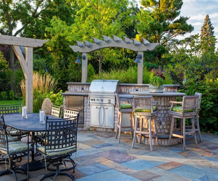 Dining Garden Pergola 6