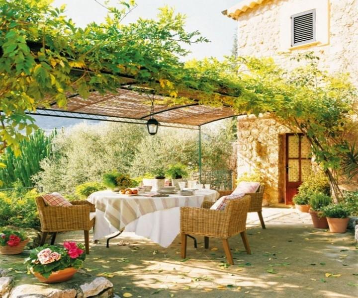 Dining Garden Pergola 7