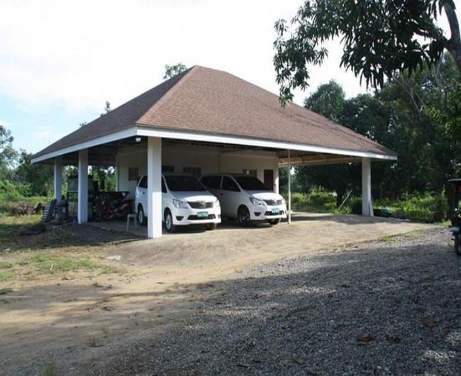 Garage Gazebo a Car Shelter 1