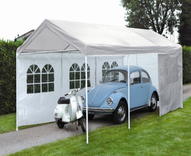Garage Gazebo a Car Shelter 2