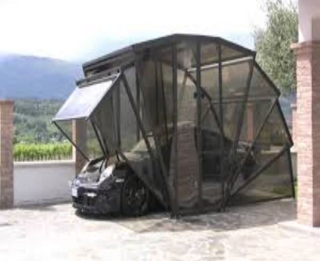 Garage Gazebo a Car Shelter 3