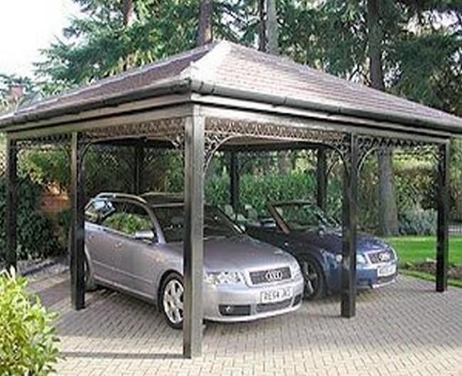 Garage Gazebo a Car Shelter 4