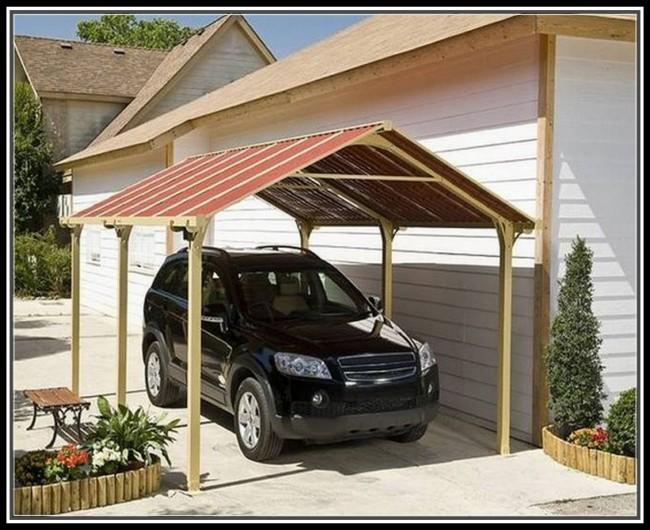 Garage Gazebo a Car Shelter 5