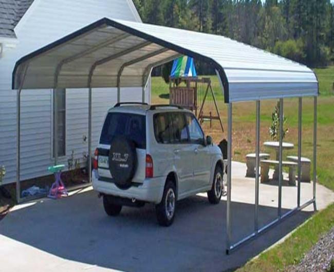 Garage Gazebo a Car Shelter 6