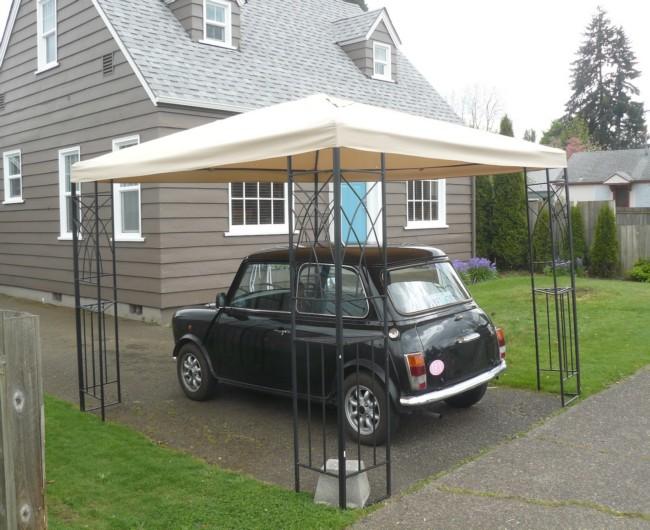 Garage Gazebo a Car Shelter 9