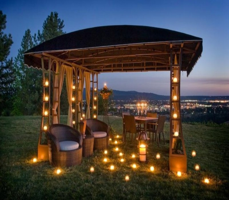 Outdoor Gazebo Lighting 2
