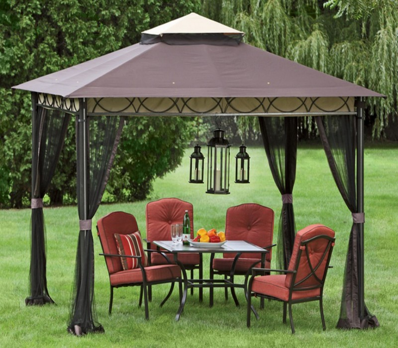 Outdoor Gazebo Lighting 6