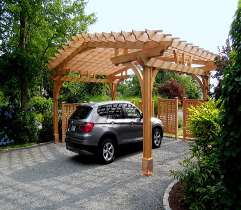 Pergola carport designs for your style pergola gazebos for Carport garage designs
