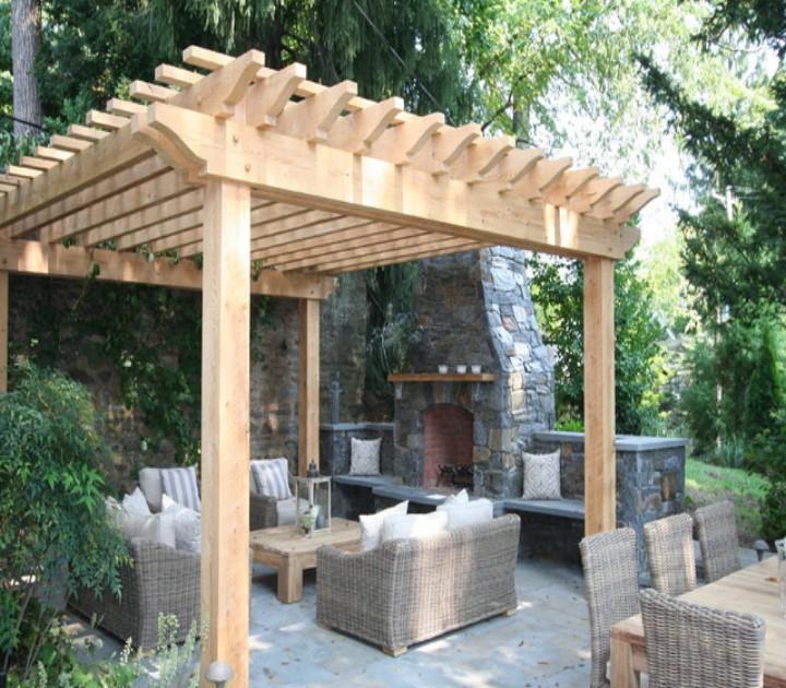 Pergola Deck for Coming Winters 8