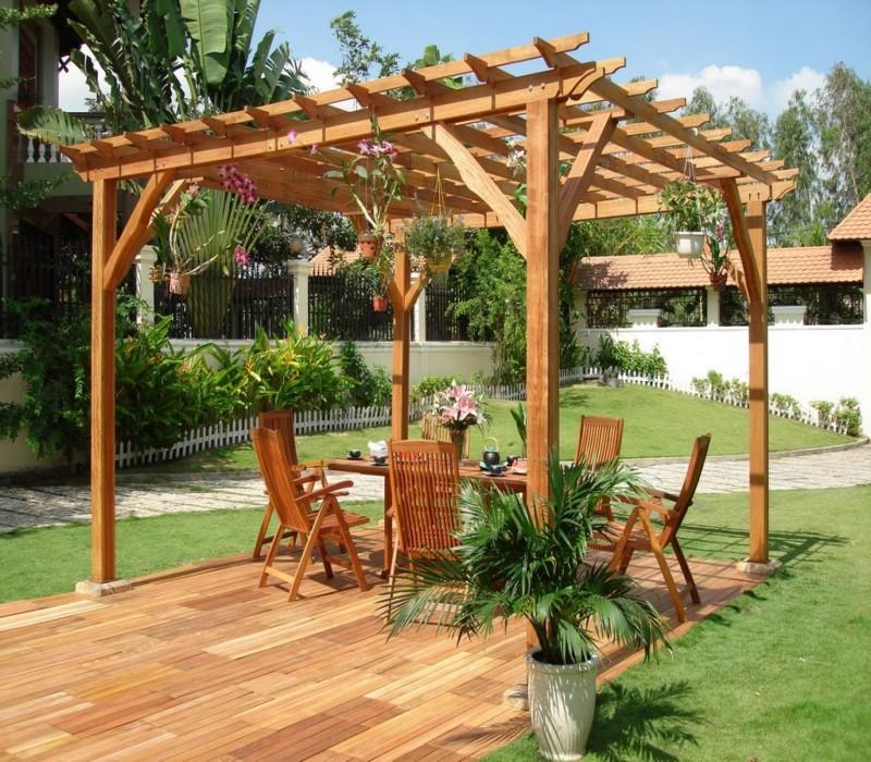 Stunning Garden Pergola 3