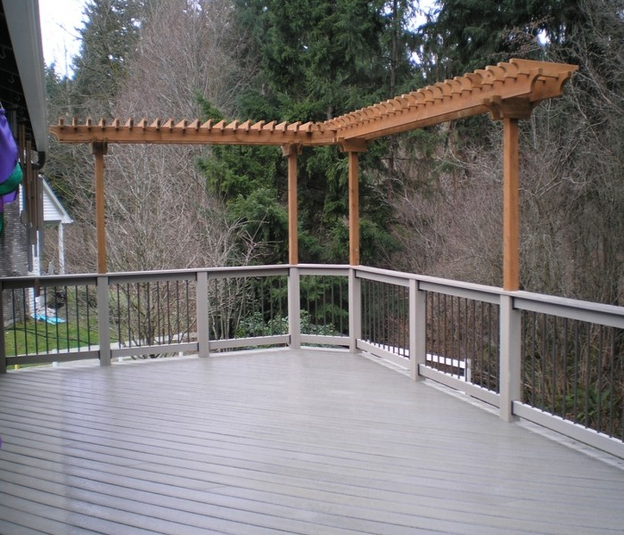 Trellis Over a Deck 2