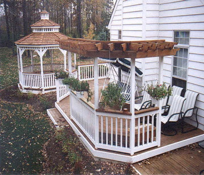Trellis Over a Deck 6
