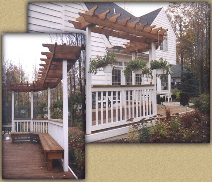 Trellis Over a Deck 8