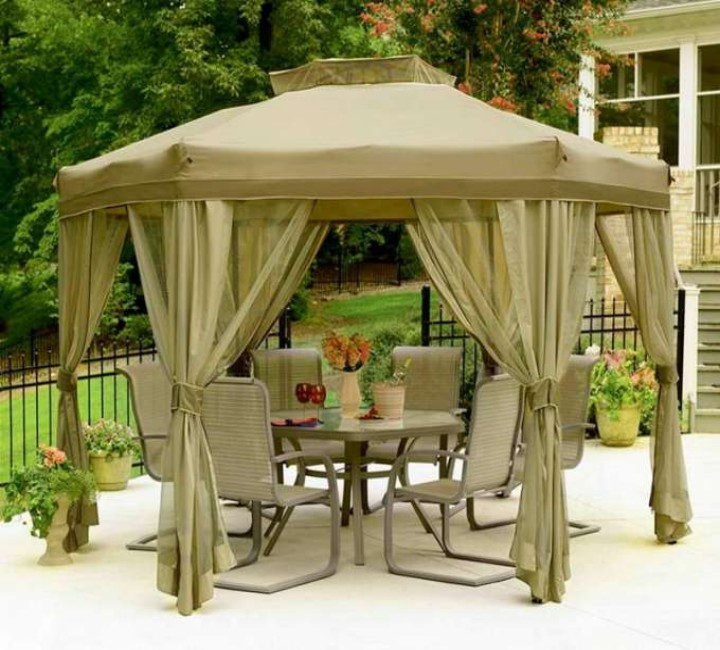 Backyard Gazebo 1