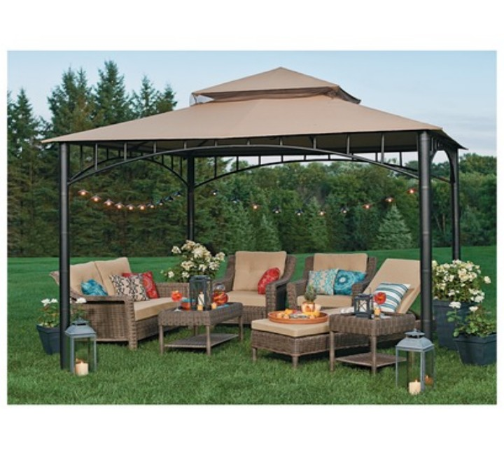 Backyard Gazebo 8