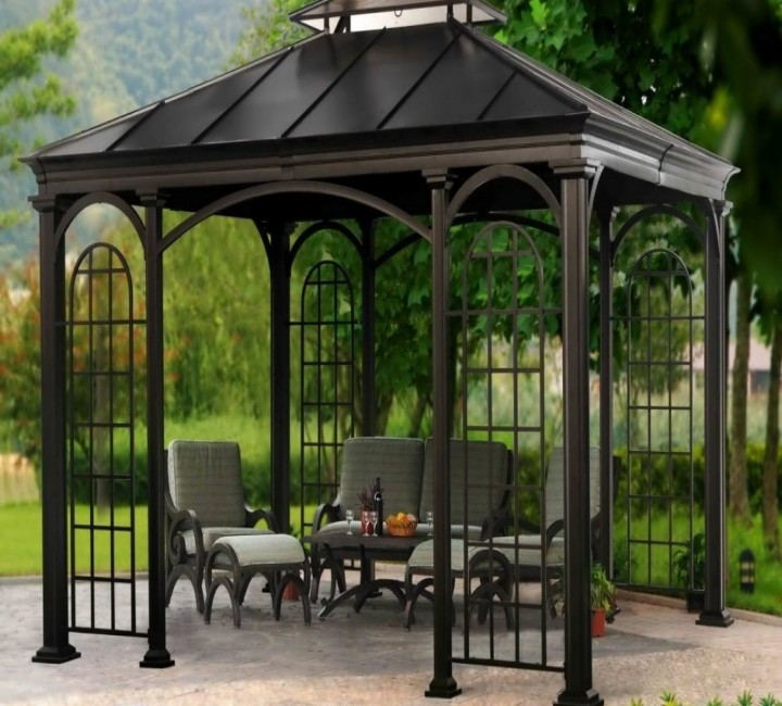 Backyard Gazebo 9