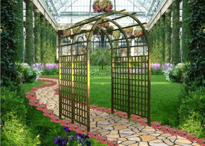 Black Iron Arbors: Easy to Renew