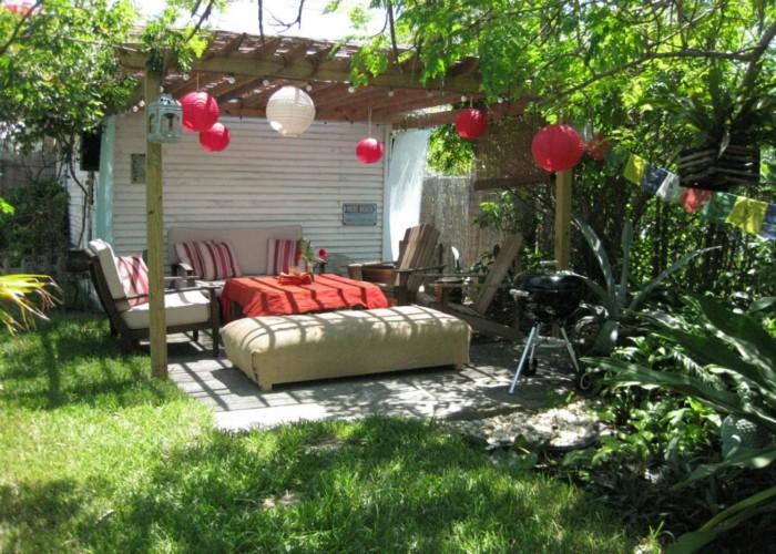 Outdoor Pergola Lounge 10